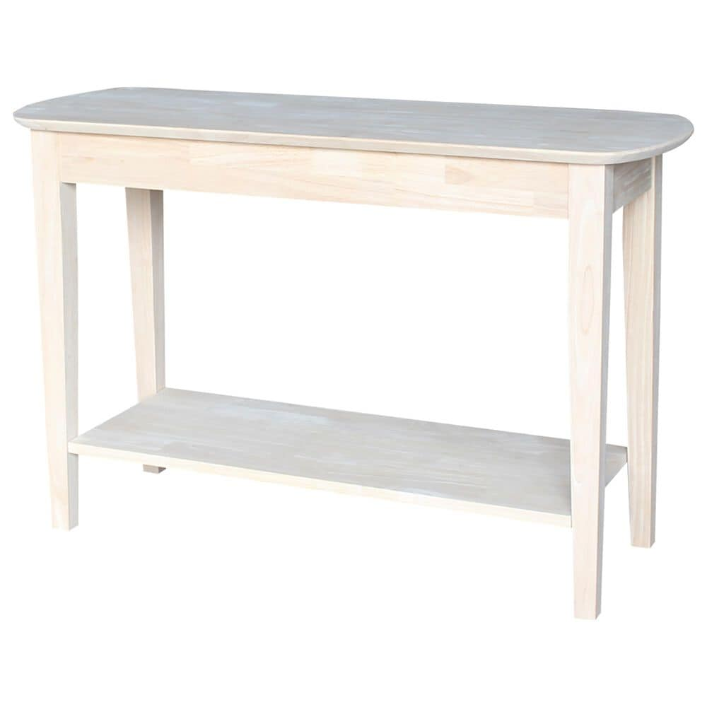 International Concepts Philips Sofa Table in Unfinished, , large