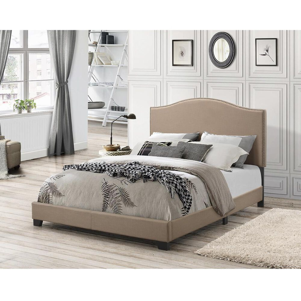 Accentric Approach Accentric Accents Benton Queen One Box Bed, , large