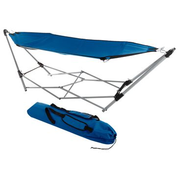 Timberlake Hastings Home Portable Hammock with Stand in Blue, , large