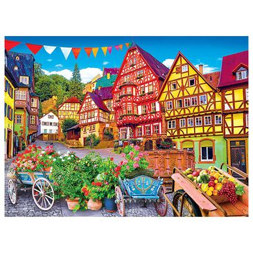 Cra-Z-Art Kodak 1000 Piece Premium Puzzle Colorful European Town, , large