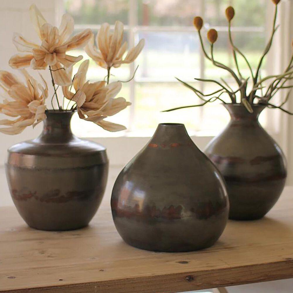 Kalalou Vases in Copper (Set of 3), , large