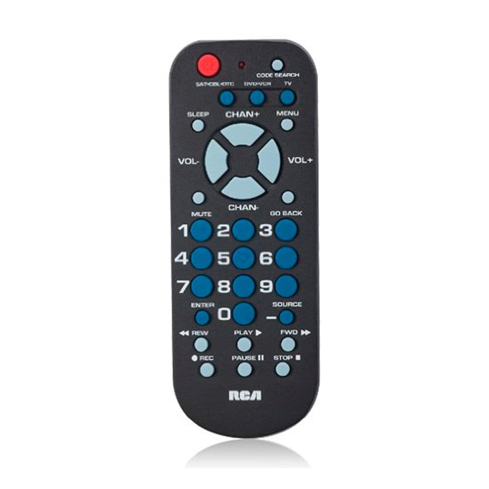 RCA 3-Device Palm Sized Remote, , large