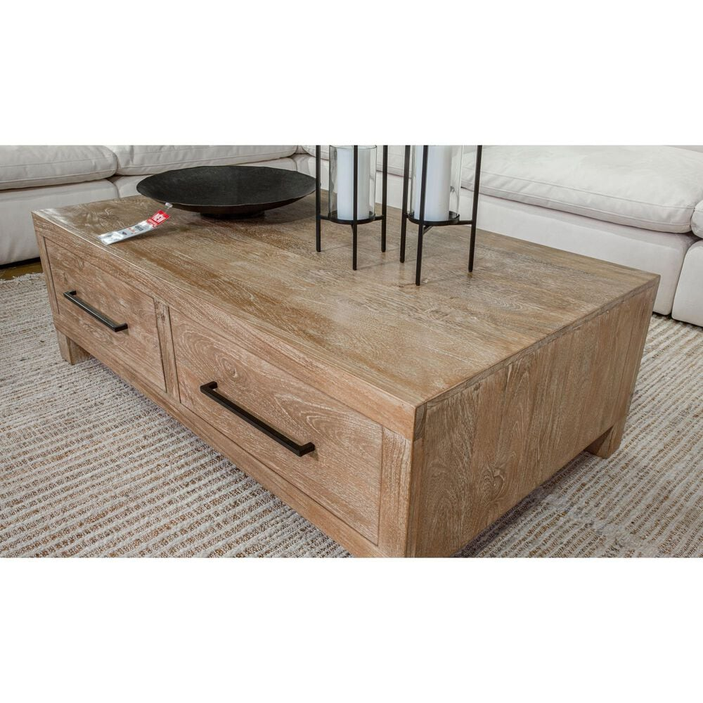 Signature Design by Ashley Belenburg Coffee Table with Storage in Natural, , large