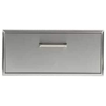"""Coyote Outdoor 33"""" Single Storage Drawer in Stainless Steel, , large"""