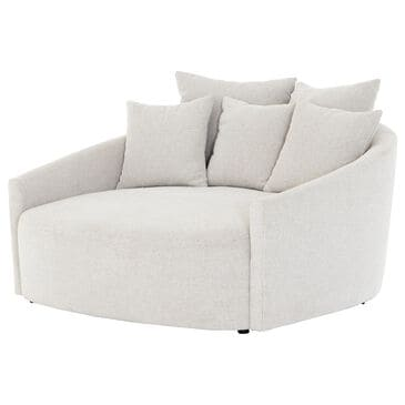 Four Hands Atelier Chloe Media Lounger in Delta Bisque, , large
