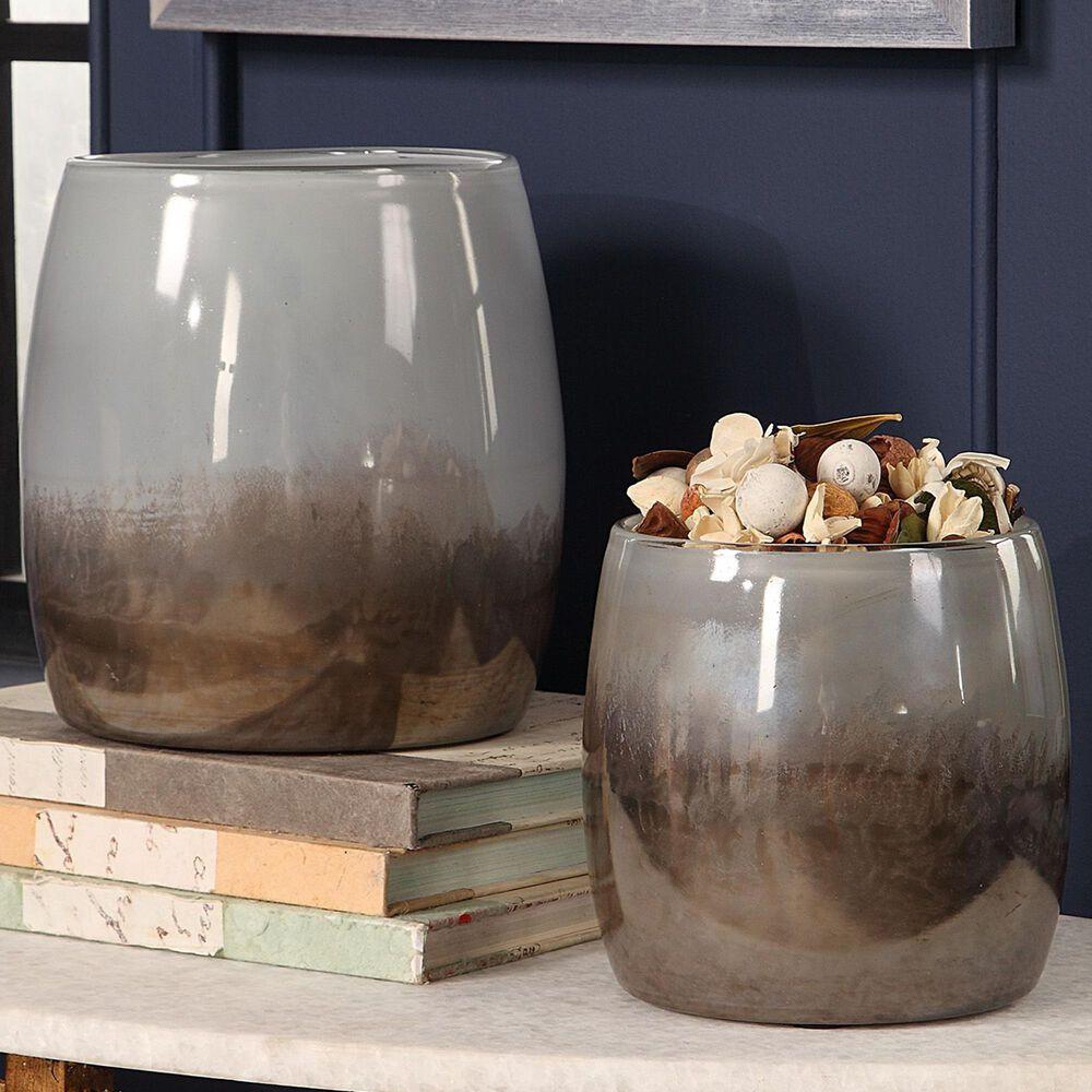 Uttermost Tinley Glass Bowls (Set of 2), , large