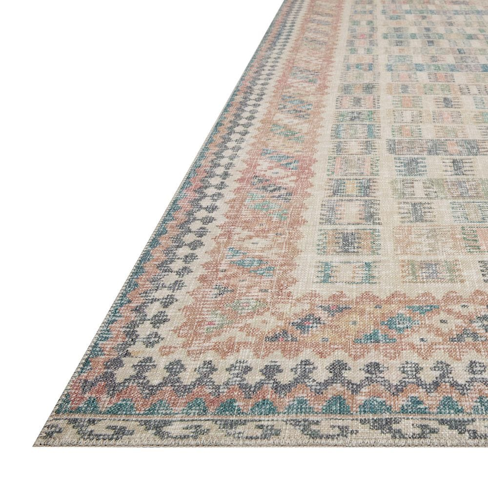 """ED Ellen DeGeneres Crafted by Loloi Alameda ALA-05 2'6"""" x 9'6"""" Blush and Lagoon Runner, , large"""