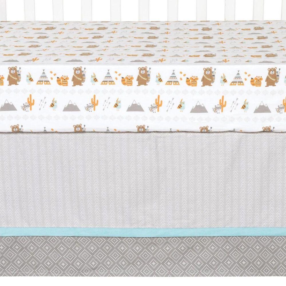 Trend Labs Lodge Buddies 3-Piece Crib Bedding Set in Gray, , large