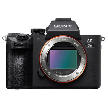 Sony Alpha a7 III Full Frame Mirrorless Interchangeable-Lens Camera (Body Only), , large