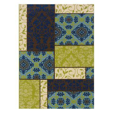 "Oriental Weavers Caspian 3066V 1'9"" x 3'9"" Brown Scatter Rug, , large"