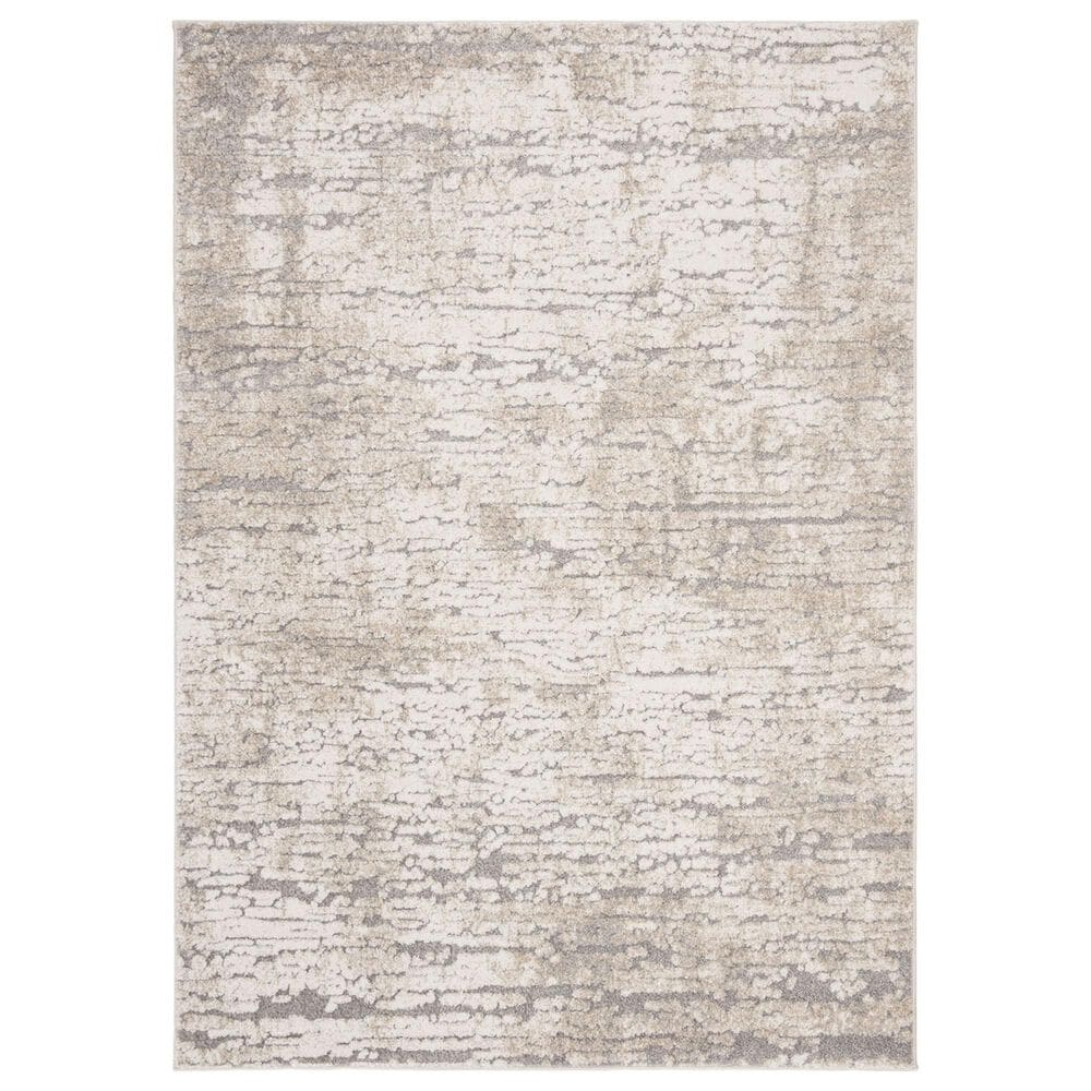 "Safavieh Spirit 5'3"" x 7'6"" Taupe and Ivory Area Rug, , large"