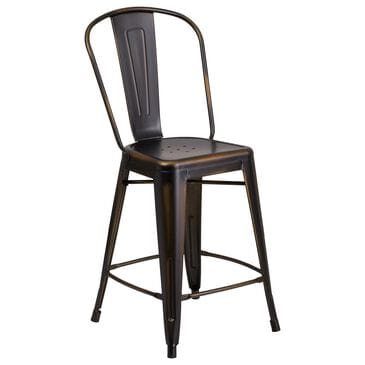 "Flash Furniture 24"" Counter Stool in Brown, , large"