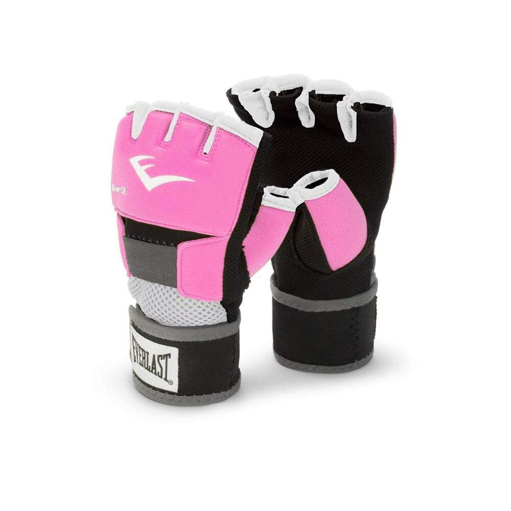 Everlast Evergel Large Hand Wraps in Pink, , large