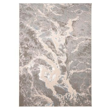 """Feizy Rugs Azure 3539F 10"""" x 13""""2"""" Gray and Blue Area Rug, , large"""