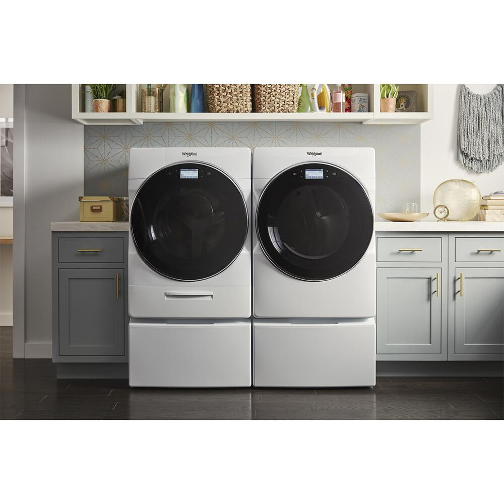 """Whirlpool 15.5"""" Laundry Pedestal in White, , large"""
