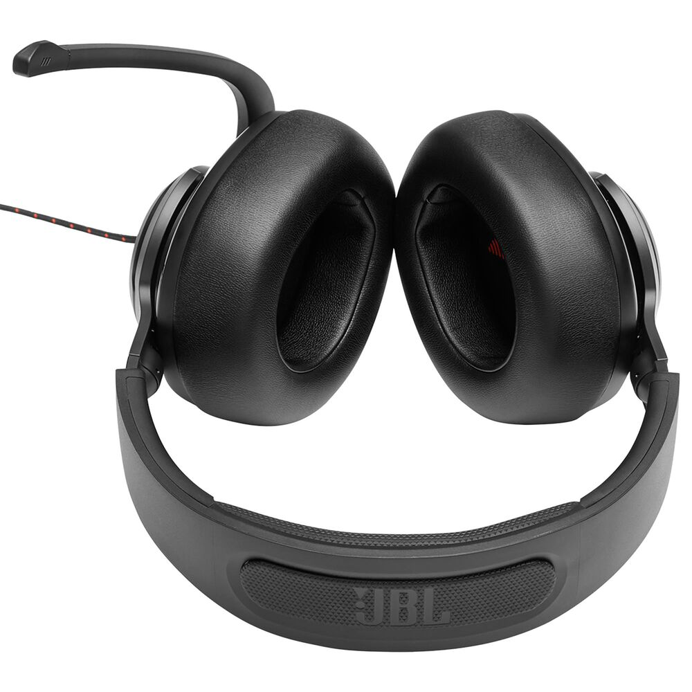 JBL Quantum 200 Wired Over-Ear Gaming Headset with Flip-Up Mic in Black, , large