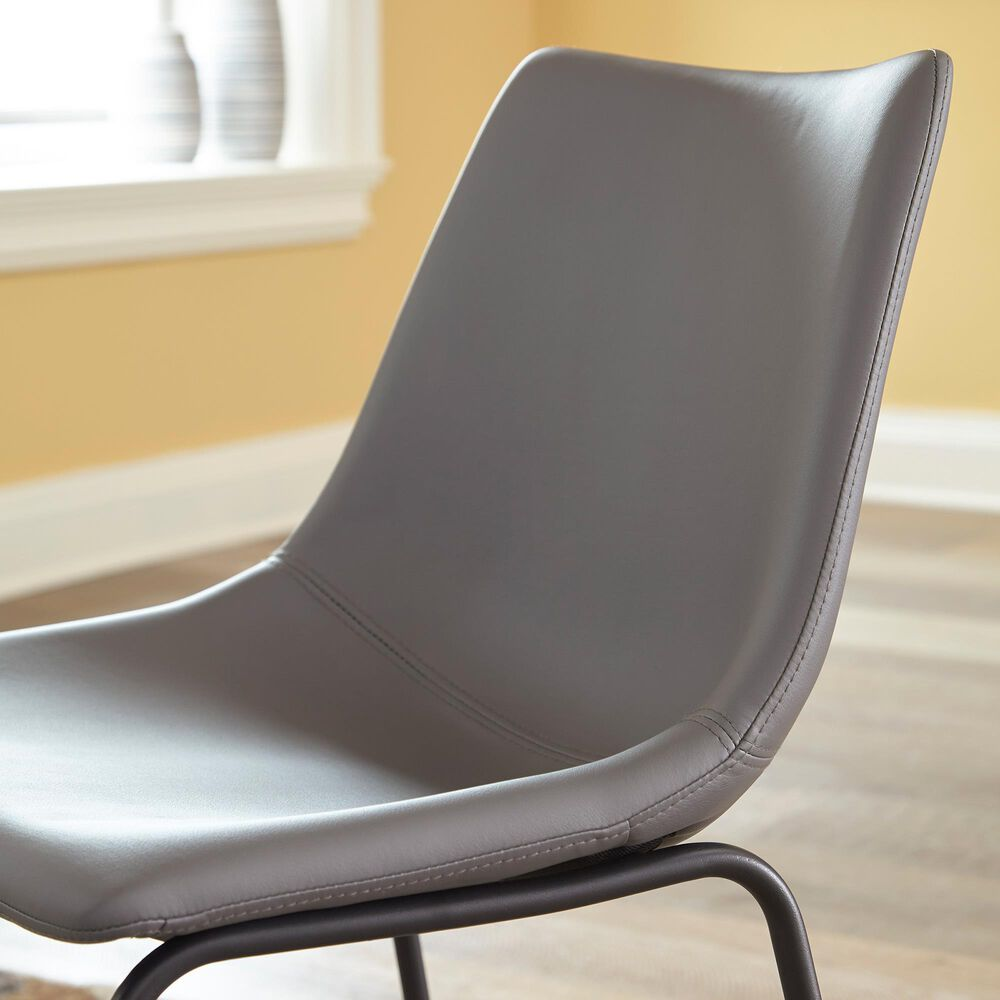 Signature Design by Ashley Centiar Side Chair in Gray, , large