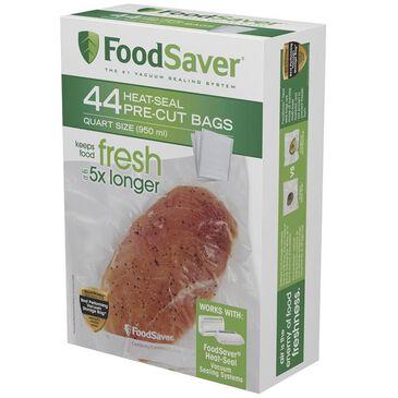 Rival FoodSaver 1-Quart Pre-Cut Food Storage Bags , , large