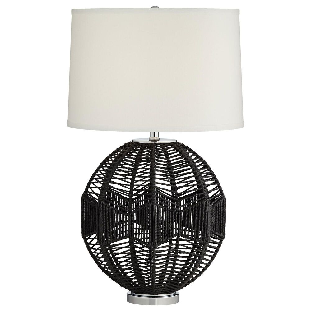 Pacific Coast Lighting North Shore Table Lamp in Black, , large