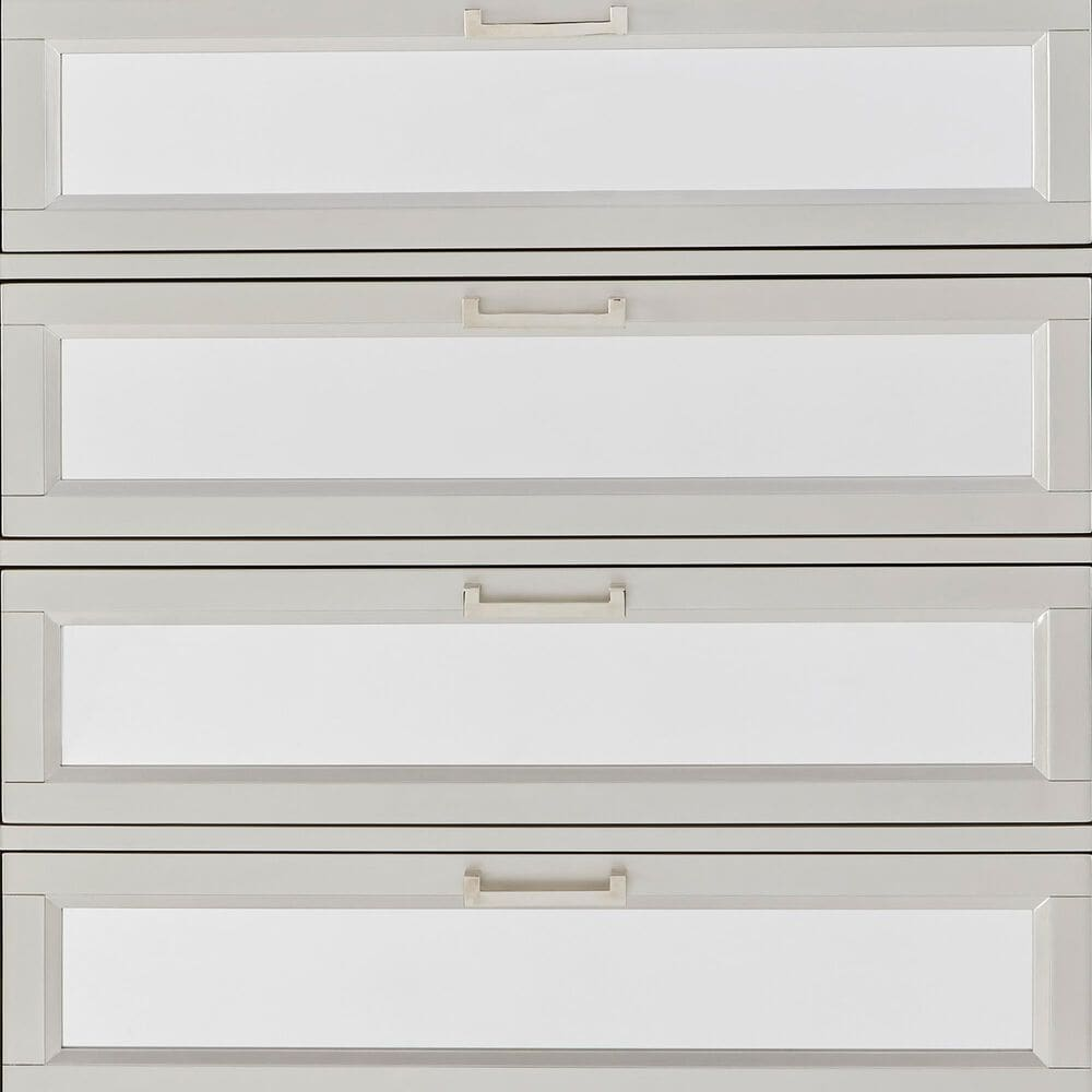 Signature Design by Ashley Lindenfield 5 Drawer Chest in Silver, , large