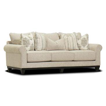 Michael Nicholas Designs Sunset Sofa in Navarre Oyster Tan, , large