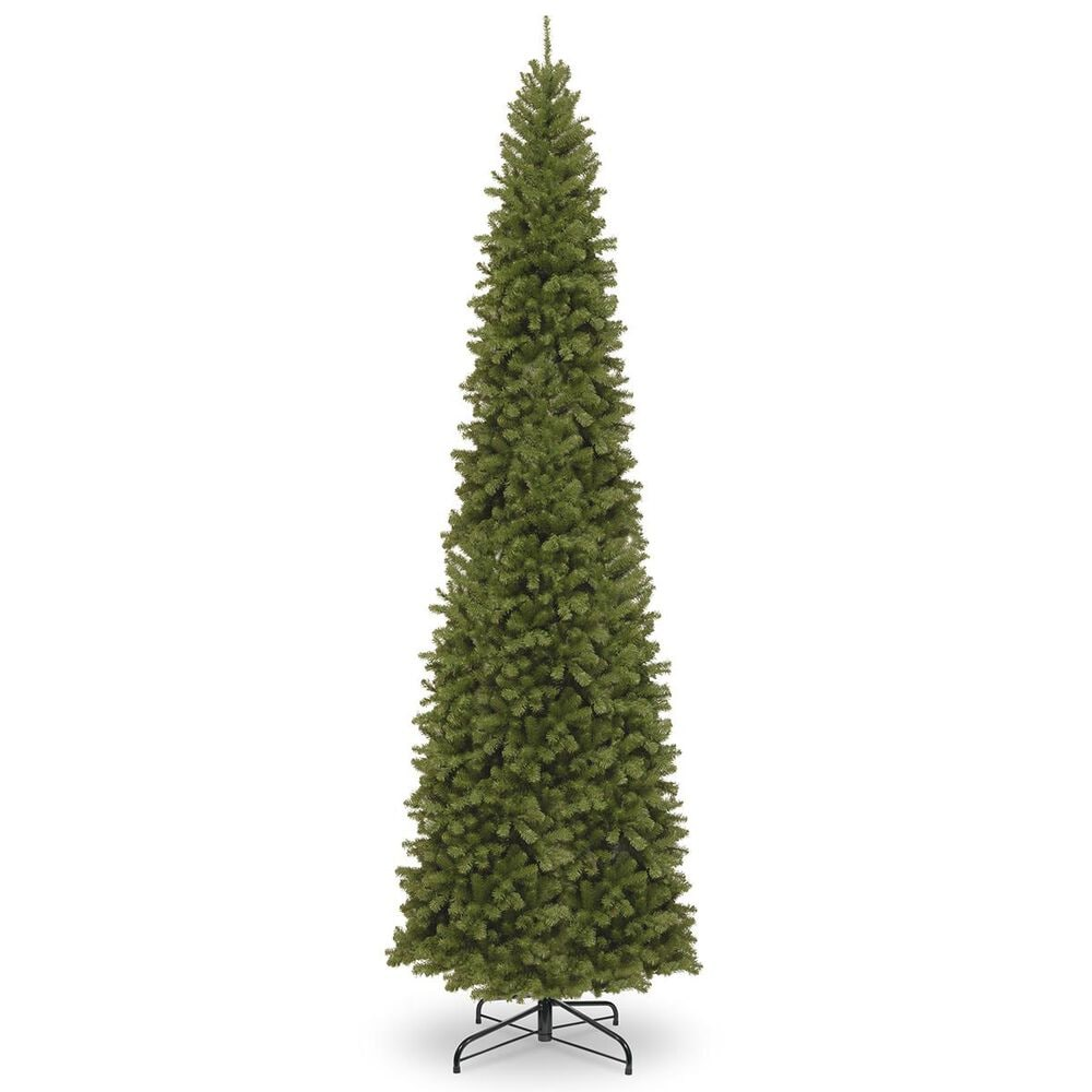 """National Tree 12"""" North Valley Spruce Pencil Slim Tree, , large"""