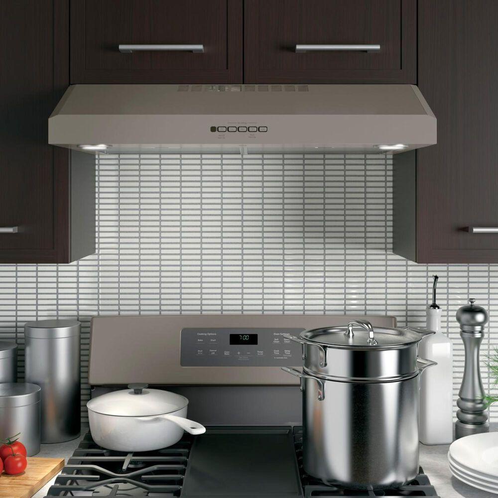 "GE Appliances 30"" Under Cabinet Hood in Slate, , large"