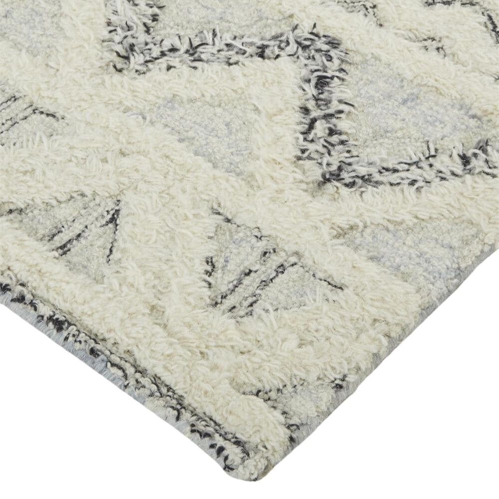 Feizy Rugs Anica 10' x 14' Blue and Ivory Area Rug, , large