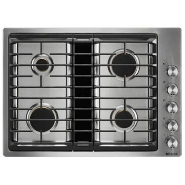 Whirlpool 30 JX3 Gas Downdraft Cooktop in Stainless Steel, , large