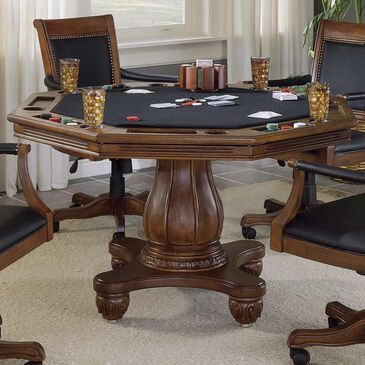 Richlands Furniture Kingston Game Table in Light Cherry, , large