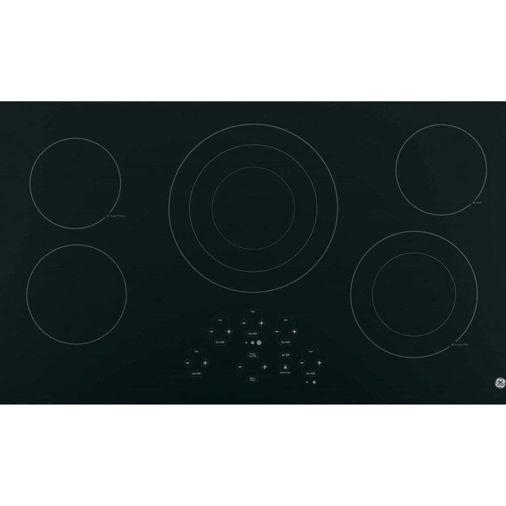 """GE Appliances 36"""" Built-In Touch Control Electric Cooktop, , large"""