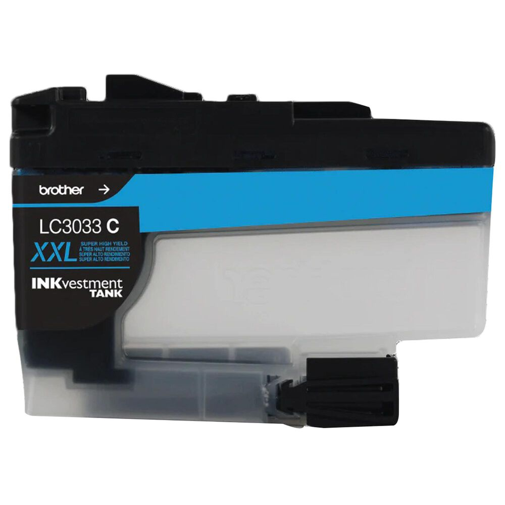 Brother Single Pack Super High-Yield Cyan INKvestment Tank Ink Cartridge, , large