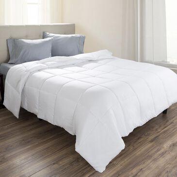 Timberlake Lavish Home Down Alternative King Comforter in White, , large