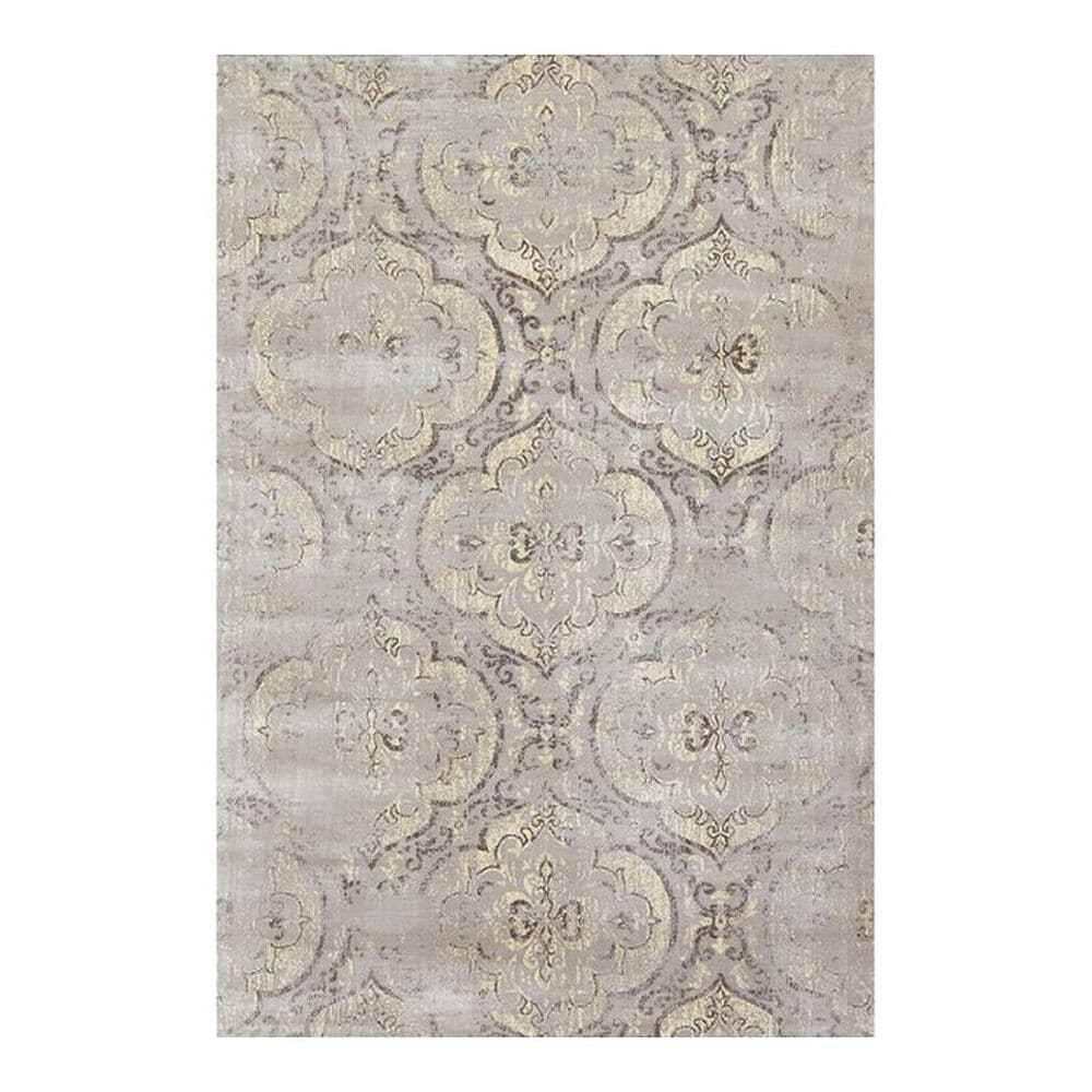 """Feizy Rugs Fiona 3269F 7'4"""" x 10'3"""" Graphite Area Rug, , large"""