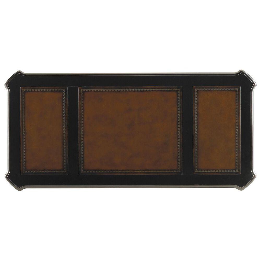 "Hooker Furniture Telluride 66"" Writing Desk in Black and Brown, , large"