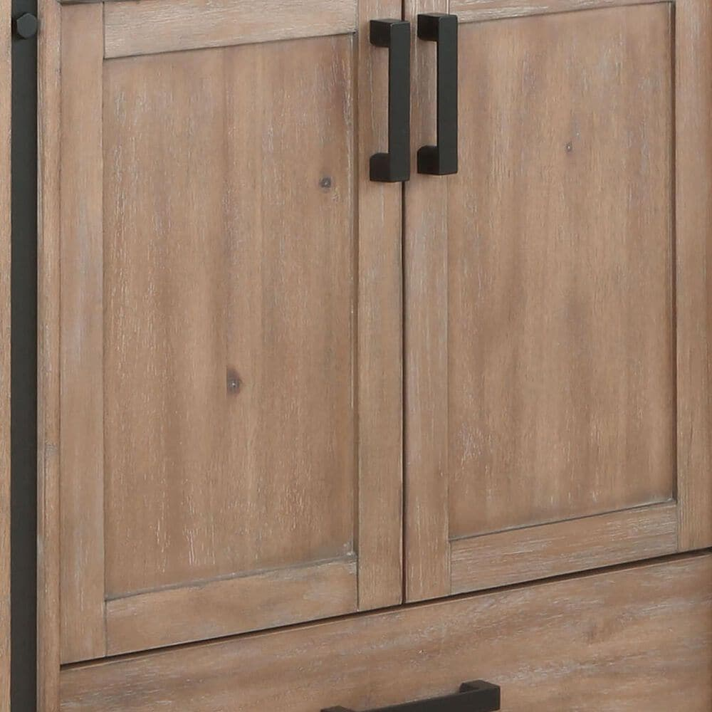 "Lexora Home Ziva 60"" Double Bathroom Vanity Cabinet and Mirrors in Rustic Barnwood, , large"