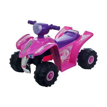 Timberlake Lil' Rider Pink Princess Mini Quad Ride-on Car Four Wheeler, , large