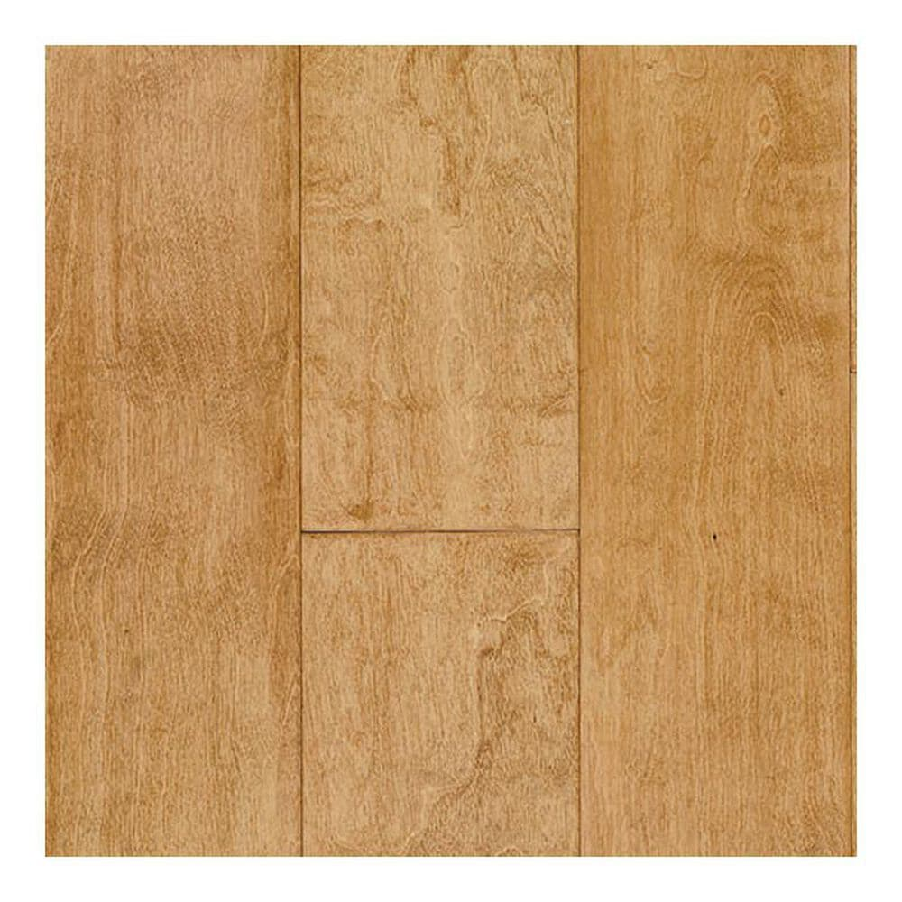 Elegance Exotic Wood Reign Maple Betula Hand Scraped Hardwood, , large