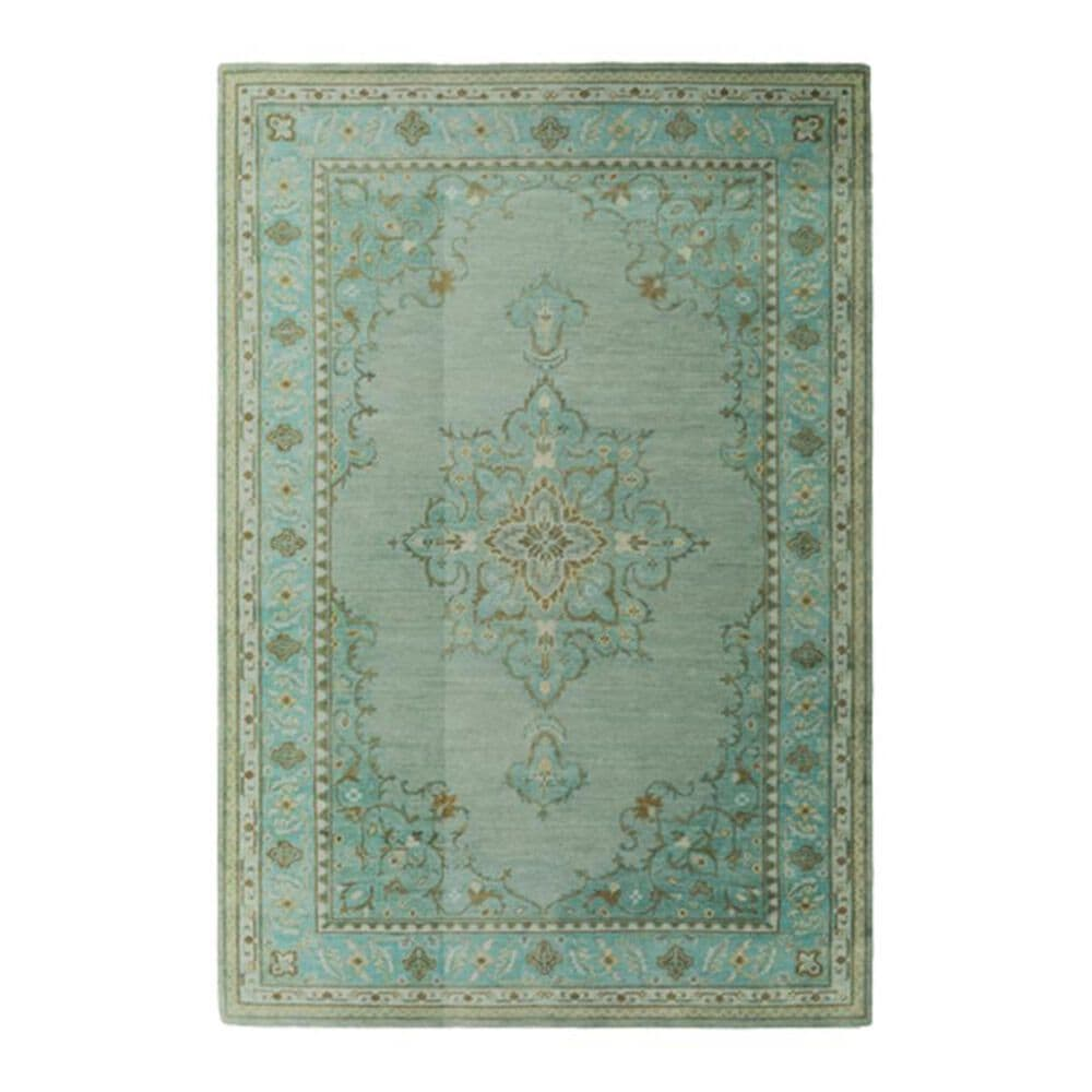 """Surya Haven HVN-1227 8"""" x 11"""" Emerald, Teal and Grass Area Rug, , large"""