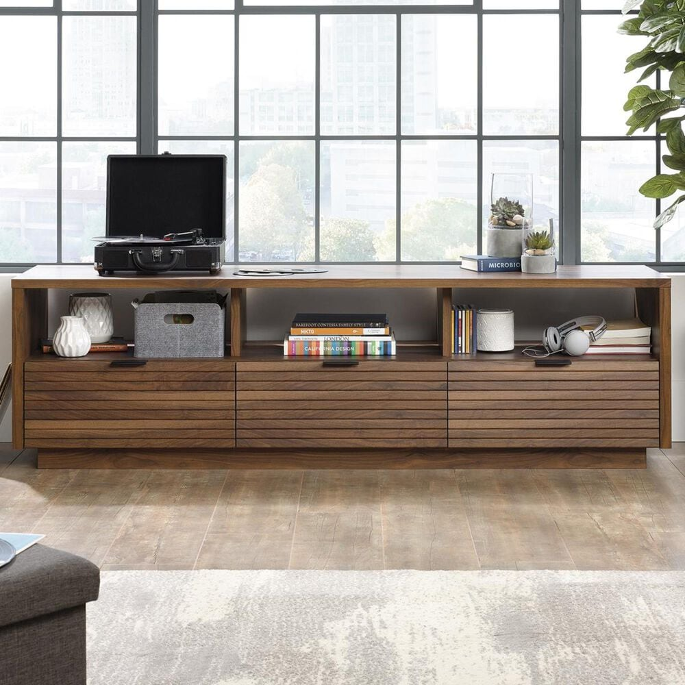 "Sauder Harvey Park 72"" Credenza in Grand Walnut, , large"