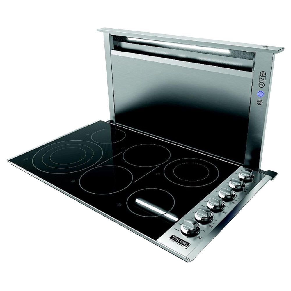 """Viking Range 30"""" Rear Downdraft with Controls on Front in Stainless Steel, , large"""