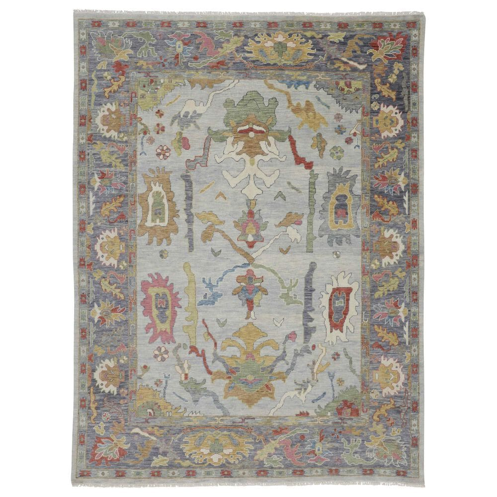 """Feizy Rugs Karina 8'6"""" x 11'6"""" Blue and Gray Area Rug, , large"""