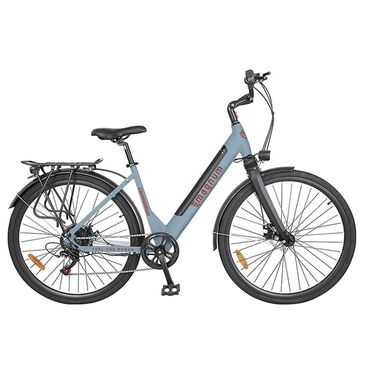 Magnum Cosmopolitan Electric Low Step Bike in Light Blue, , large