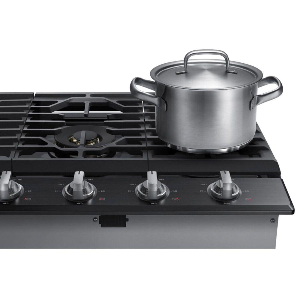 "Samsung 30"" Gas Cooktop in Black Stainless Steel, Black, large"
