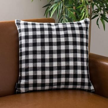 """Safavieh Autumn 18"""" Pillow in Beige and Black, , large"""
