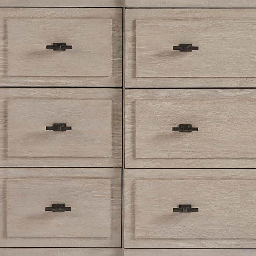 Furniture Worldwide Midtown 9 Drawer Dresser in Flannel, , large