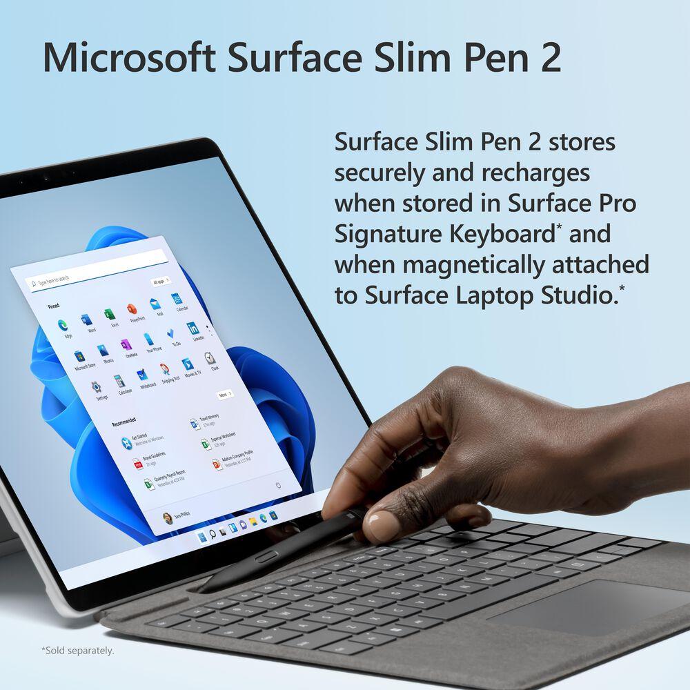 Microsoft Surface Slim Pen 2 in Black, , large