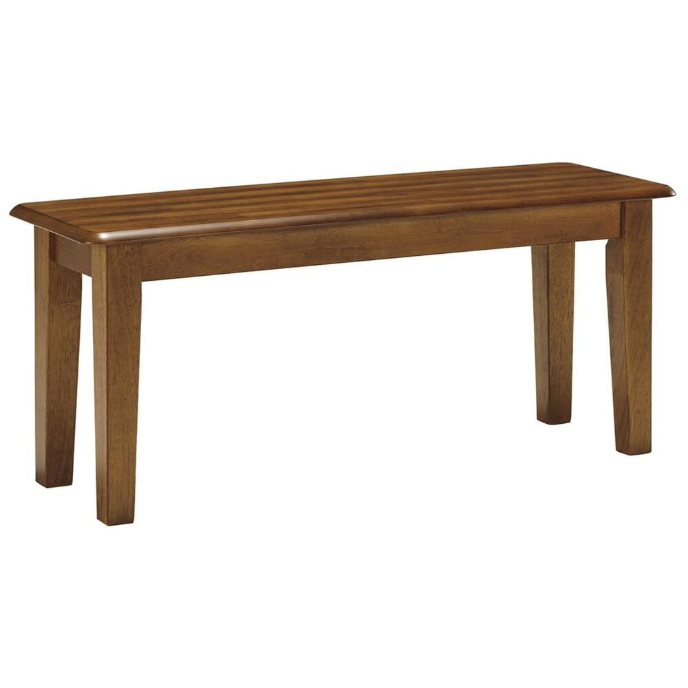Ashley Berringer Large Dining Bench in Rustic Brown, , large