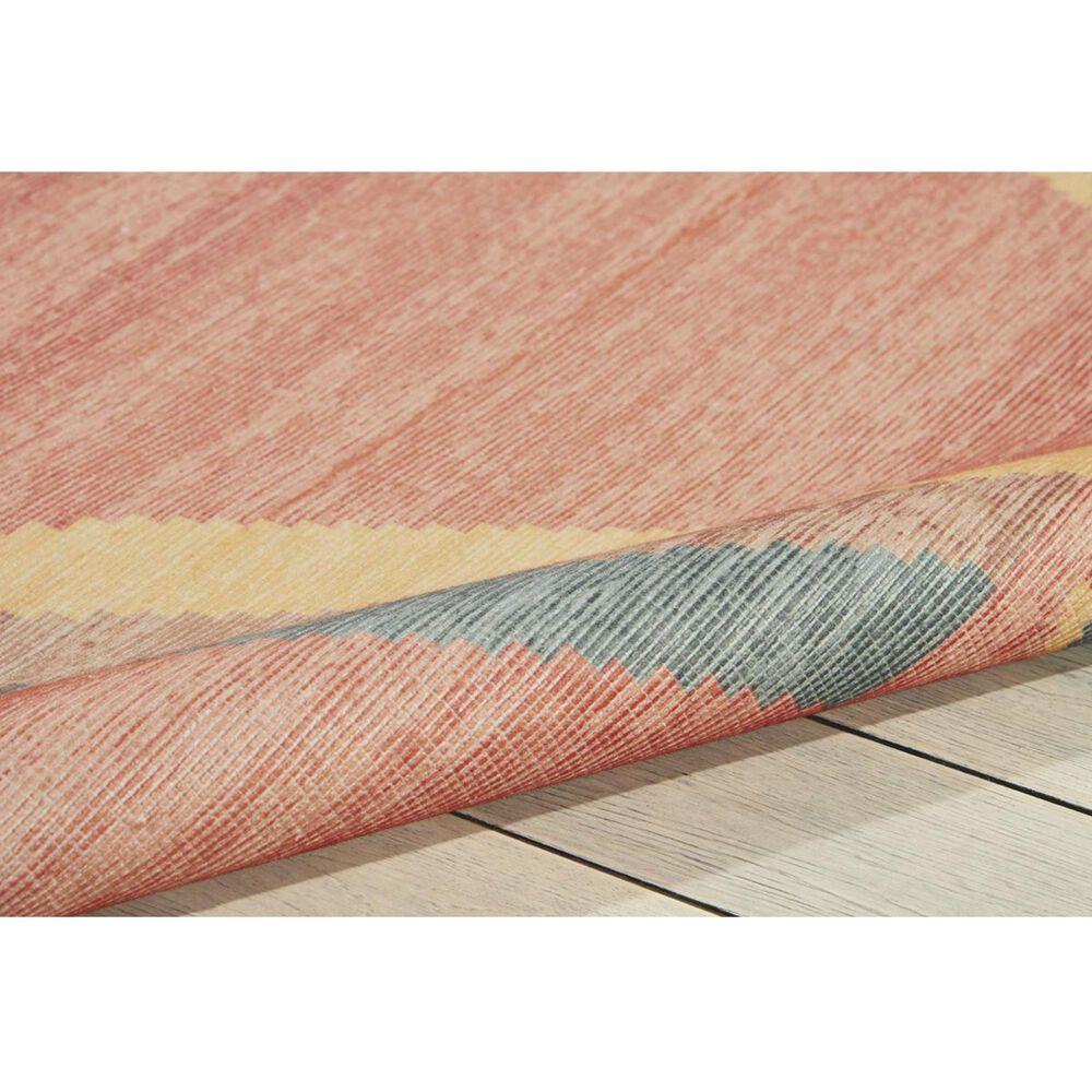 "Nourison Madera MAD02 6'6"" x 9'6"" Tangerine Area Rug, , large"