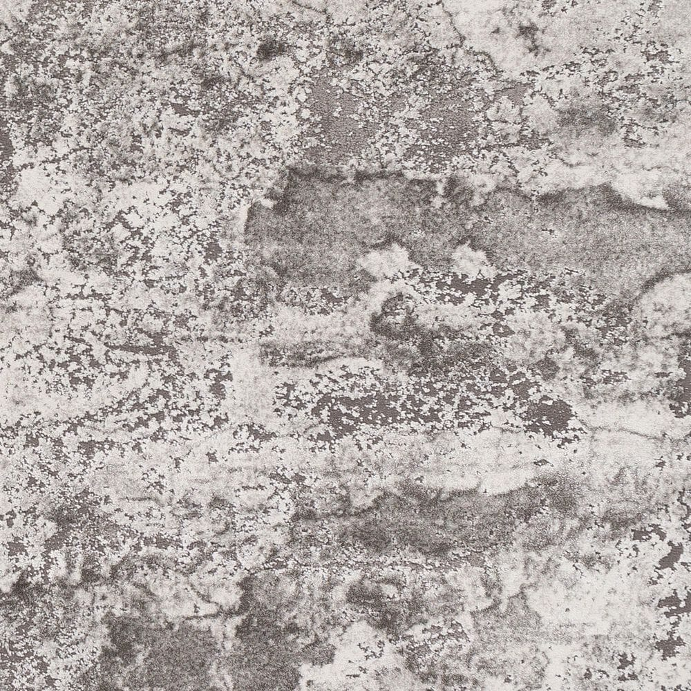 "Surya Tibetan TBT-2320 2'7"" x 7'7"" Charcoal, Gray and White Runner, , large"